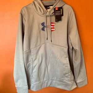 Under Armour Stars&Stripes Logo Hooded Sweatshirt